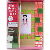 Glass Mosaic Photo Frame