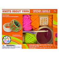 Knots About Yarn - Crochet Bangle