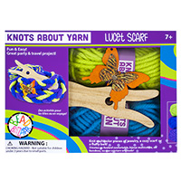 Knots About Yarn - Lucet Scarf