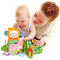 Take Along Teether Activity Book