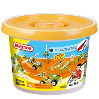 Erector Build & Play 150 Piece Bucket