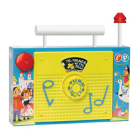 Fisher Price Classic Toy - TV Radio