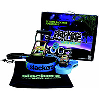 Slacker 50' Slackline Eclipse Trick Set