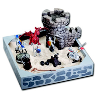My Little Sandbox Play Set - Knights & Dragons