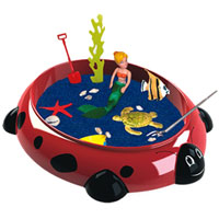 Sandbox Critter Play Set - Lady Bug with Mermaid