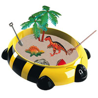 Sandbox Critter Play Set - Bumble Bee with Dinosaur