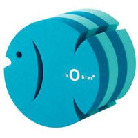bObles Mini Tumblings - Turquoise Fish