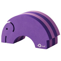 bObles Mini Tumblins - Purple Elephant