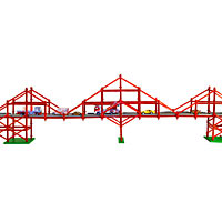 Girder and Panel - 450 piece Bridge Mania