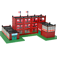 Girder and Panel - 190 piece School