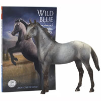 Wild Blue: Classic Breyer Horse & Book Set