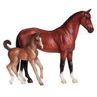 Breyer Classics Horse and Foal Set