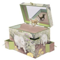 Enchantmints Puppy Love Music Box
