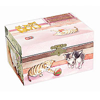 Enchantmints Puppies & Kittens Music Box