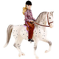 Breyer My Favorite Horse Let's Go Riding - English 1:9 Scale