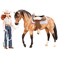 Breyer My Favorite Horse Let's Go Riding - Western 1:9 Scale