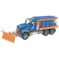 MACK Granite Snow Plow Truck