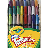 24 ct. Mini Twistables Crayons