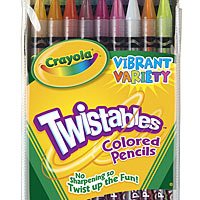 18 ct. Twistables Colored Pencils