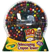 Telescoping Crayon Tower - 150 ct