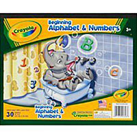 Beginning Alphabet and Numbers Paper