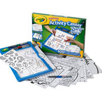 Dry-Erase Activity Center - Zany Play
