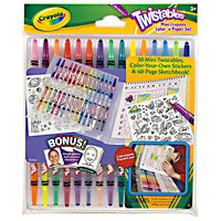 Mini Twistables Crayons Color N Paper Set
