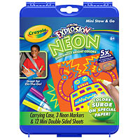 Color Explosion Neon Mini Stow & Go