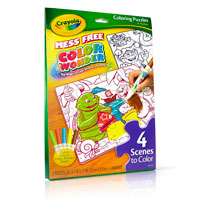 Color Wonder Double-Sided Puzzles & Markers