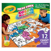 Color Wonder Floor Puzzle & Markers