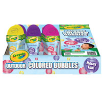 Outdoor Colored Bubbles