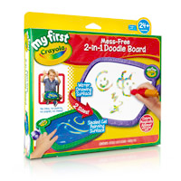 My First Crayola 2-in-1 Doodle Board