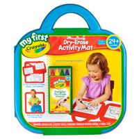 My First Crayola Dry-Erase Activity Mat