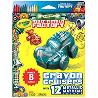 Melt & Mold Crayon Cruisers - Metallic Mayhem