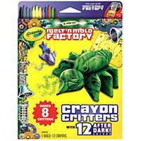 Melt & Mold Crayon Critters - After Dark