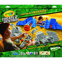Create 2 Destroy Fortress Invasion Ultimate Playset