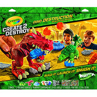Create 2 Destroy Dino Destruction - Metropolitan Mayhem