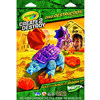 Create 2 Destroy Dino Destruction - Suburban Slam