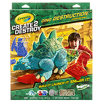 Create 2 Destroy Dino Destruction - Stomping Mall