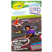 Chalk Grab 'N Go Games - Foot Hockey