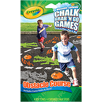 Chalk Grab 'N Go Games - Obstacle Course