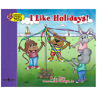 Interactive Book About Me - I Like Holidays!