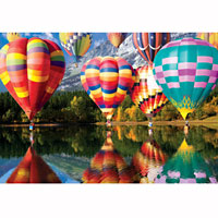 Balloons in Flight 2000 piece puzzle