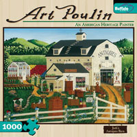 Jodi's Antiques Barn 1000 piece puzzle