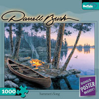 Summer's Song 1000 piece puzzle