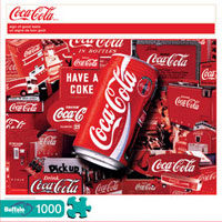 Coca-Cola - Sign of Good Taste 1000 piece puzzle