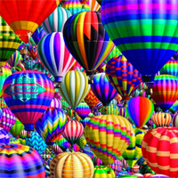 Hot Air Balloons Photo Seek Puzzle