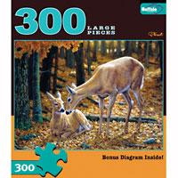 Autumn Innocence 300 large piece puzzle
