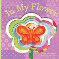 In My Flower Board Book with Puppet