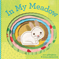 In My Meadow Board Book with Puppet